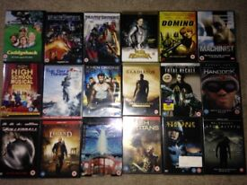 Blockbuster movies DVD collection. 18 films