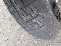 135/80r13 emergency tyre brand new on rim