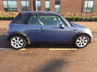 MINI COOPER CONVERTIBLE 'CHILLI-PACK' 59k Miles