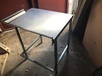 Commercial Stainless steel prep table 85/70/89cm