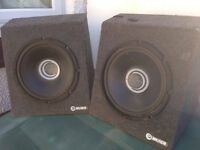 "CT Sounds Subwoofer Bass X 2 12"" Speakers"