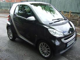 Smart Car Fortwo Passion Auto. 09 reg 48000 miles with main dealer history.12 months mot.2 keys.