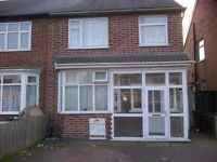 DOUBLE ROOM £300PM/£150 DEPOSIT, GLENEAGLES AVE LE4 7GB, SUIT MATURE WORKING TENANT