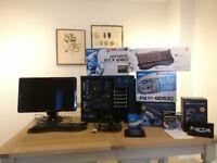 """Gaming PC - i5 2500k, GTX 680, 8 GB DDR3, 250 GB SSD, Fractal Define R2, 23"""" LCD Monitor, Keyboard"""