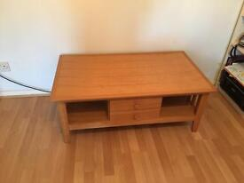 Solid quality wooden coffee/ tv table.