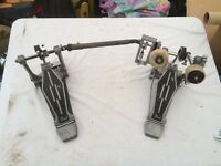 Old Pearl Double Bass Pedal
