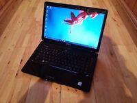 Dell 1545. specs a 15.6 inch glossy screen. 320gb hard An Intel core 2, 2 x 2.0Ghz processor