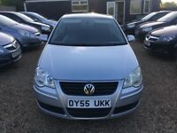 VOLKSWAGEN POLO 1.4 S HATCHBACK 3DR 2005*IDEAL FIRST CAR*CHEAP INSURANCE*EXCELLENT CONDITION