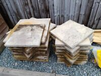 Shed and 2 sizes of slabs for sale