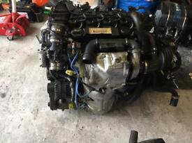 2010 Ford Focus 1.6 Diesel Engine, manual Gearbox & Engine wiring harness.