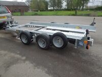 Car Trailer Hire Manchester, Merseyside, Lancs, Cheshire available 7 days/week