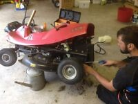 Sovereign ride-on lawnmower- now sold