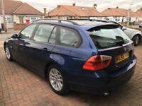 BMW 320D SE, E91 estate, 161bhp, Blue, 3rd owner, MOT till 27.02.2019, full service history, 100% OK