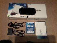 Sony Playstation PS Vita 128gb card +1019 games Boxed