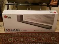 LG SJ5 320 W RMS Sound bar System Brand New