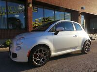 2012 Fiat 500 Sport MANUAL AND SUNROOF