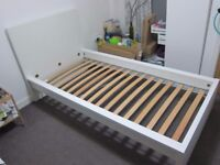 Ikea malm single bed with storage