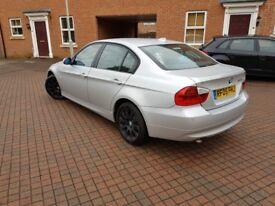 2005 Saloon BMW 320d, Manual 2.0L (163bhp) Diesel (Silver) E90