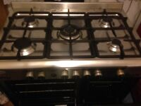 Stainless Range gas cooker 90cm....Mint free delivery