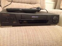 working Panasonic video recorder