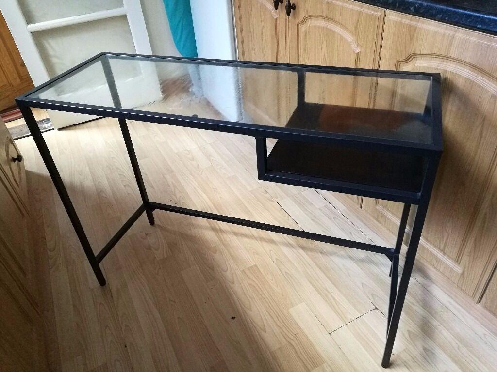 Ikea vittsjo laptop table desk in southsea hampshire gumtree