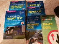 DVSA - PCV Driver Training Theory Books