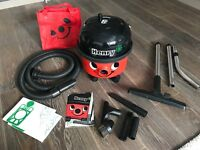 Henry vacuum cleaner in great condition with all accessories.