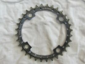 Gusset front chain ring 32 tooth