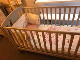 Mamas And Papas Pebble Grey Nursery Bundle