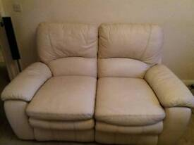 Electric recliner leather sofas