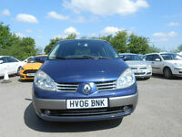 Renault Megane 1.6 Scenic Dynamique VVT March 18 MOT 2 New Tyres