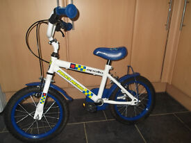Boys Apollo Police Bike