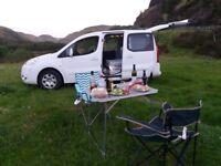 Peugeot partner campervan 2 berth