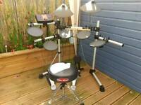Yamaha DTXplorer Electronic Drum Kit & Amp