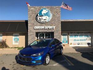 2017 Chevrolet Cruze SHARP LT! $124.00 BI-WEEKLY+TAX!