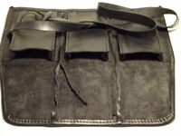 Leather 3 pouch Watch Roll Travel Collectors vintage custom Genuine by LOTHS UK