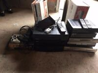 Various tv satellite/vcr PRICE FOR ALL 40