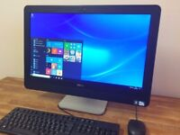 "DELL 9010 - 23"" Full HD All in One PC, Windows 10, Office, WEBCAM Desktop PC Computer"