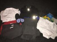 School Uniform Boy Bundle M&S Grey Red Age 3-4 4-5
