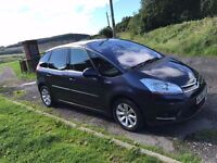 Citroen C4 Picasso exclusive model 1.6 hdi cheap family car needs tlc
