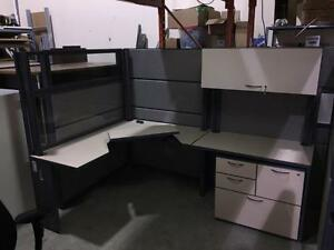 PreOwned L-Shape Workstations
