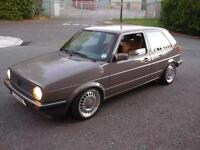 VW GOLF MK2 G60 Gti SYNCRO 3 door with R32 conversion and full rebuild