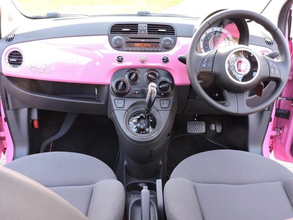 Semi-auto stunning Pink Fiat 500  Limited edition  | in Gravesend, Kent |  Gumtree