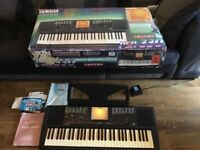 Yamaha PSR 330 keyboard in original box complete with power supply and manuals