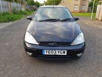 2003 Ford Focus 1.8 TDCi Ghia 5dr Manual @07445775115 2Key+History+Long+Mot+Warranty+HPI+History.