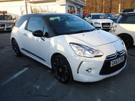 2013 CITROEN DS3 DSTYEL E HDI 1.6 ONLY 40K MILEAGE 0%ROAD TAX 12 M MOT 3 M NATIONWIDE WARRANTY