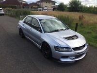 EVO 8 BIG SPEC 580BHP WITH LOW MILEAGE