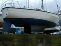 28ft yacht