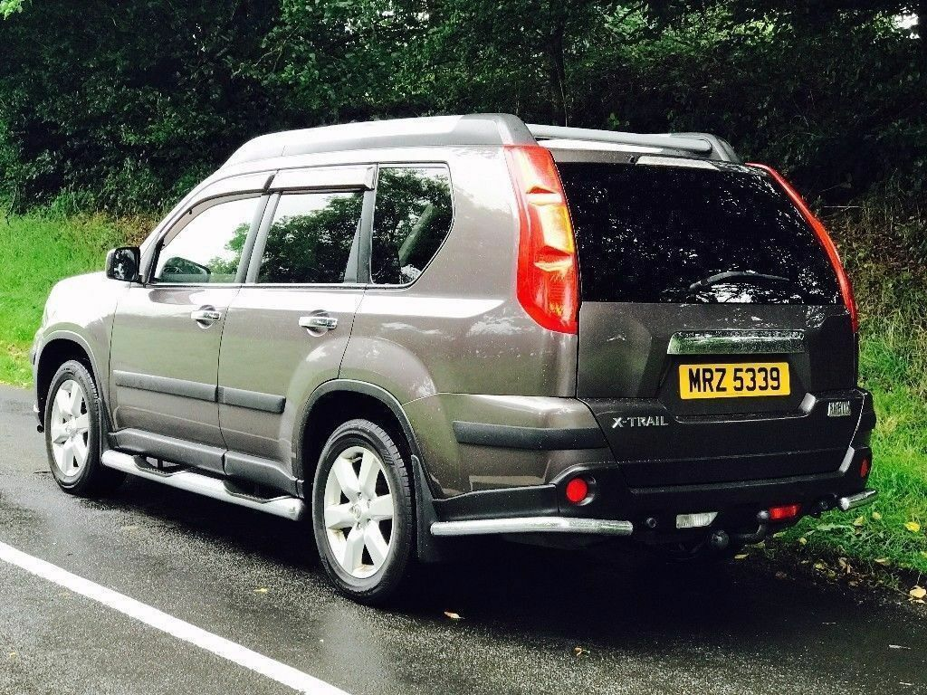 2008 Nissan X-Trail 2.0 dci Artix Expedition Sports Adventure trade in welcome, credit cards taken