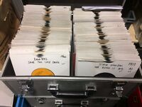 """DJ Case with 170 Northern Soul and Motown from the 60's and 70's 7"""" Vinyl Singles all VG+ or better"""